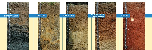 information about different types of soil Overview: not all dirt is created equal in fact, different types of soil can make a big difference in some very important areas of our society.
